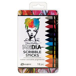 Ranger Ink - Dina Wakley Media - Scribble Sticks - Set 2