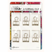 Ranger Ink - Dina Wakley Media - Journal Clips - Small - 6 Pack