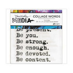 Ranger Ink - Dina Wakley Media - Collage Words