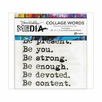 Ranger Ink - Dina Wakley Media - Collage Words