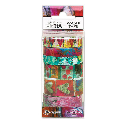 Ranger Ink - Dina Wakley Media - Washi Tape - Set 3