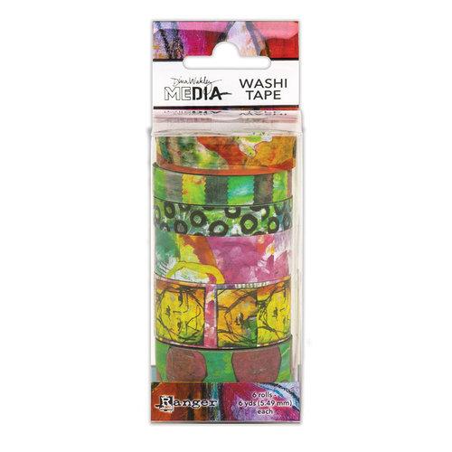 Ranger Ink - Dina Wakley Media - Washi Tape - Set 4