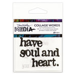 Ranger Ink - Dina Wakley Media - Collage Words 2