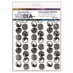 Ranger Ink - Dina Wakley Media - Collage Paper - 7.5 x 10 - Backgrounds