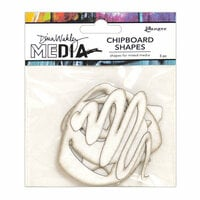 Ranger Ink - Dina Wakley Media - Chipboard Shapes - Basics
