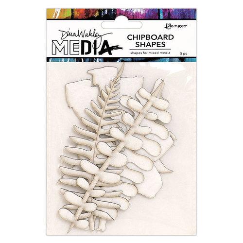 Ranger Ink - Dina Wakley Media - Chipboard Shapes - Botanicals