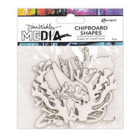 Ranger Ink - Dina Wakley Media - Chipboard Shapes - Ocean
