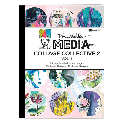 Ranger Ink - Dina Wakley Media - Collage Collective 2 - Vol. 1
