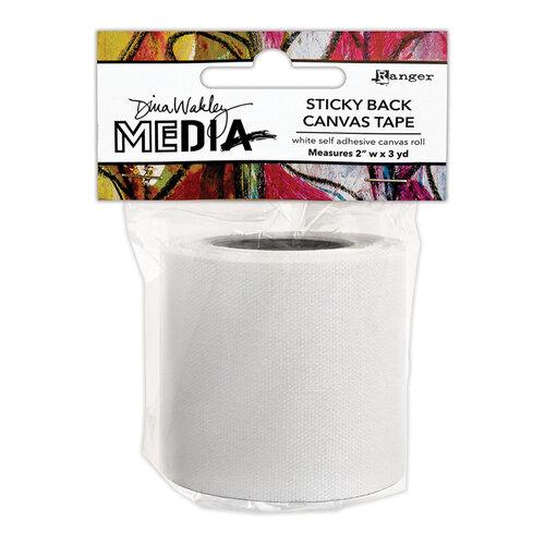 Ranger Ink - Dina Wakley Media - Stickyback Canvas Tape - 2 Inch