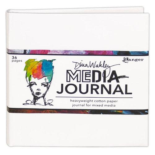 Ranger Ink - Dina Wakley Media - Media Journal - 6 x 6 - White