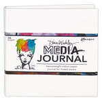 Ranger Ink - Dina Wakley Media - Media Journal - 6 x 6 - White