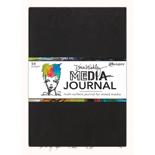 Dina Wakley Large Media Journal