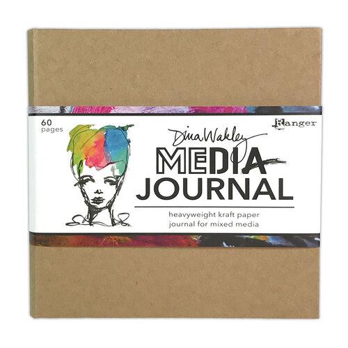 Ranger Ink - Dina Wakley Media - Kraft Journal - 6 x 6