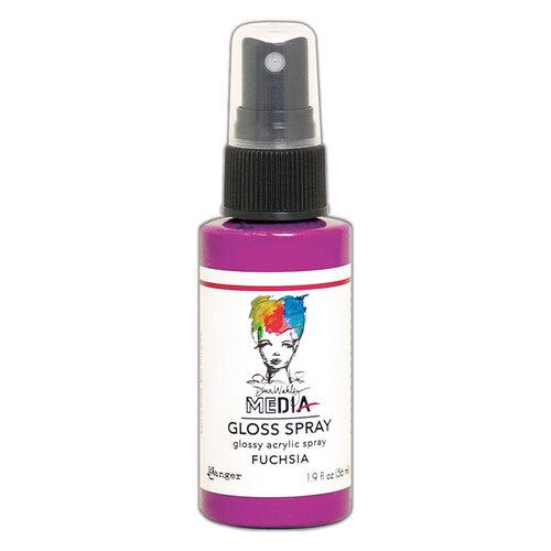 Ranger Ink - Dina Wakley Media - Gloss Sprays - Fuchsia