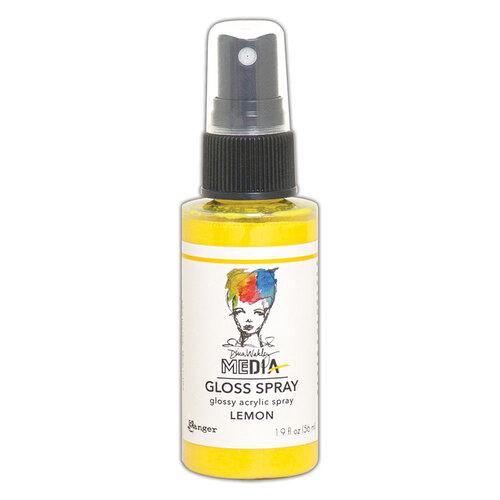 Ranger Ink - Dina Wakley Media - Gloss Sprays - Lemon