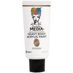 Ranger Ink - Dina Wakley Media - Heavy Body Acrylic Paint - Penny