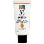 Ranger Ink - Dina Wakley Media - Heavy Body Acrylic Paint - Cheddar