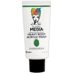 Ranger Ink - Dina Wakley Media - Heavy Body Acrylic Paint - Evergreen
