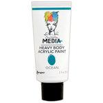 Ranger Ink - Dina Wakley Media - Heavy Body Acrylic Paint - Ocean