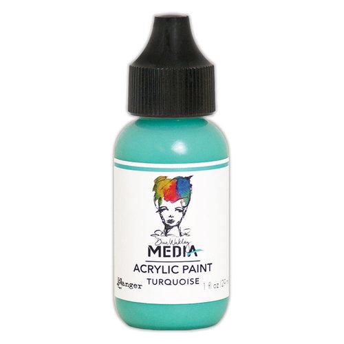 Ranger Ink - Dina Wakley Media - Heavy Body Acrylic Paint - Turquoise
