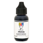 Ranger Ink - Dina Wakley Media - Black Gesso - 1 Ounce