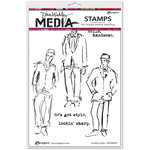Ranger Ink - Dina Wakley Media - Unmounted Rubber Stamps - Scribbly Fellas