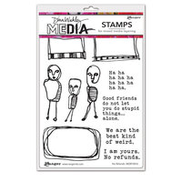 Ranger Ink - Dina Wakley Media - Cling Mounted Rubber Stamps - No Refunds