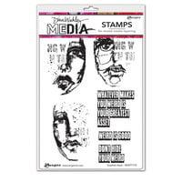Ranger Ink - Dina Wakley Media - Unmounted Rubber Stamps - Greatest Asset