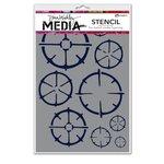 Ranger Ink - Dina Wakley Media - Stencils - Wheels