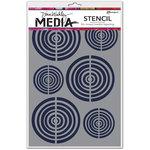 Ranger Ink - Dina Wakley Media - Stencils - Bullseye