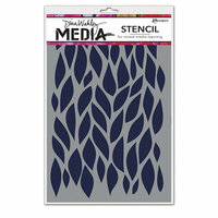Ranger Ink - Dina Wakley Media - Stencils - Big Leafy