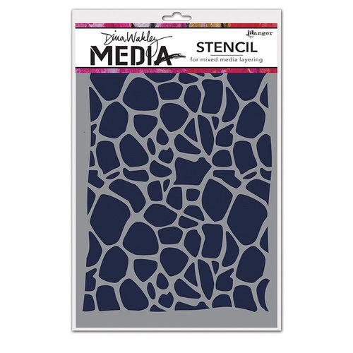 Ranger Ink - Dina Wakley Media - Stencils - Cellular