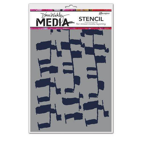 Ranger Ink - Dina Wakley Media - Stencils - Ladders