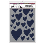 Ranger Ink - Dina Wakley Media - Stencils - The Best Hearts