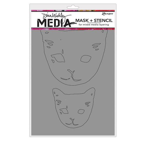 Ranger Ink - Dina Wakley Media - Masks - Cat Head