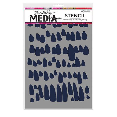 Ranger Ink - Dina Wakley Media - Stencils - Petals