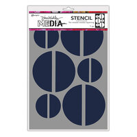 Ranger Ink - Dina Wakley Media - Stencils - Large Halves