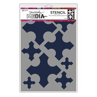 Ranger Ink - Dina Wakley Media - Stencils - Large Medieval Crosses