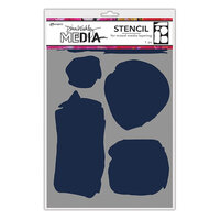 Ranger Ink - Dina Wakley Media - Stencils - Uneven Shapes