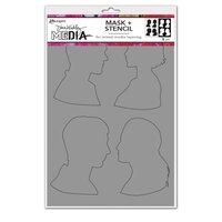 Ranger Ink - Dina Wakley Media - Stencils - Profiles