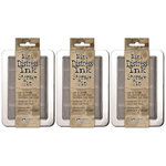 Ranger Ink - Tim Holtz - Mini Distress Ink Storage Tin - 3 Pack Set