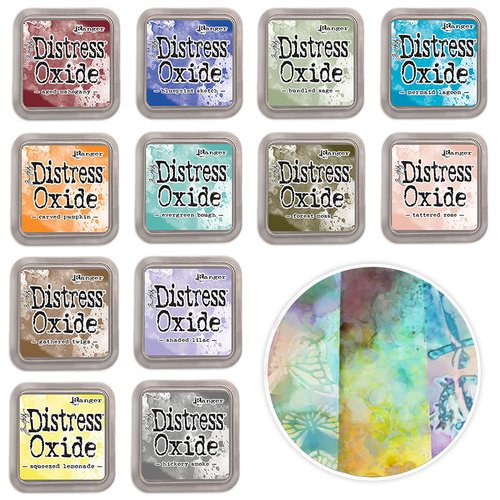 Ranger Ink - Tim Holtz - Distress Oxides Ink Pad Kit -  2018 Bundle One