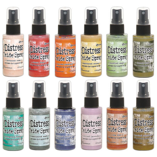 Ranger Ink - Tim Holtz - Distress Oxides Spray Kit - Bundle Four