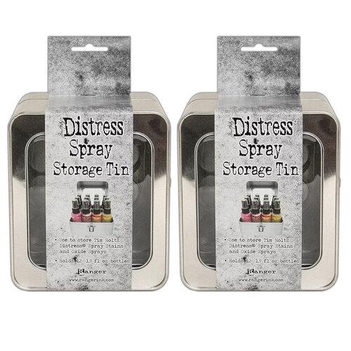Ranger Ink - Tim Holtz - Distress Spray - Storage Tin - 2 Pack