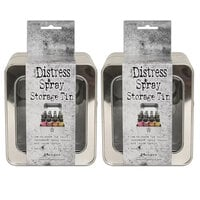 Ranger Ink - Tim Holtz - Distress Spray - Storage Tin - 2 Pack