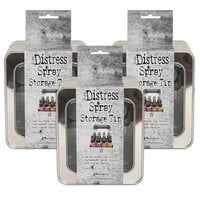 Ranger Ink - Tim Holtz - Distress Spray - Storage Tin - 3 Pack