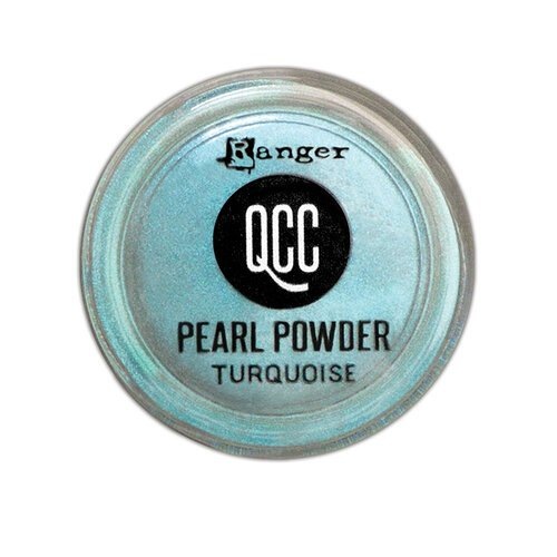 Ranger Ink - QuickCure Clay - Pearl Powders - Turquoise