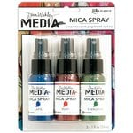 Ranger ink - Dina Wakley Media - Mica Sprays - 3 Pack