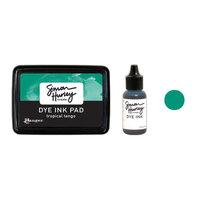 Ranger Ink - Simon Hurley - Dye Ink Pad and Reinker - Tropical Tango