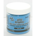Ranger Ink - Ultra Thick Embossing Enamel - Brightz - Blue Iris, CLEARANCE